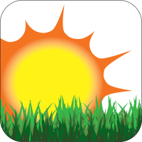 Green Meadow Icon w Outline resized