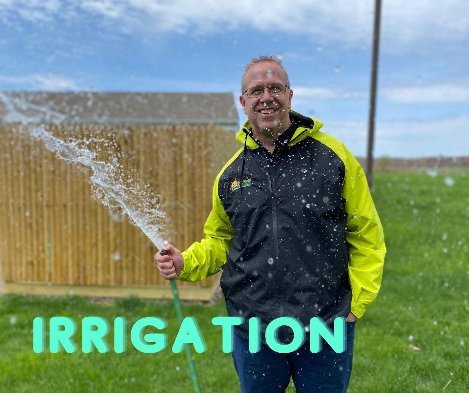 underground irrigation vs above ground irrigation